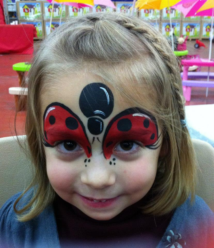 Maquillage enfant coccinelle - Maquillage carnaval facile ...