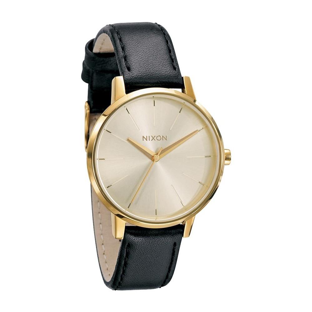 Connu Montre femme bracelet cuir noir - deshabillez-vous LD68