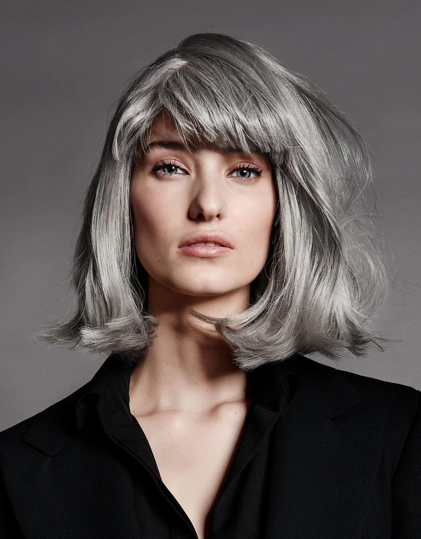 cheveux gris vous pouvez les cacher ou au contraire les mettre en avant. Black Bedroom Furniture Sets. Home Design Ideas