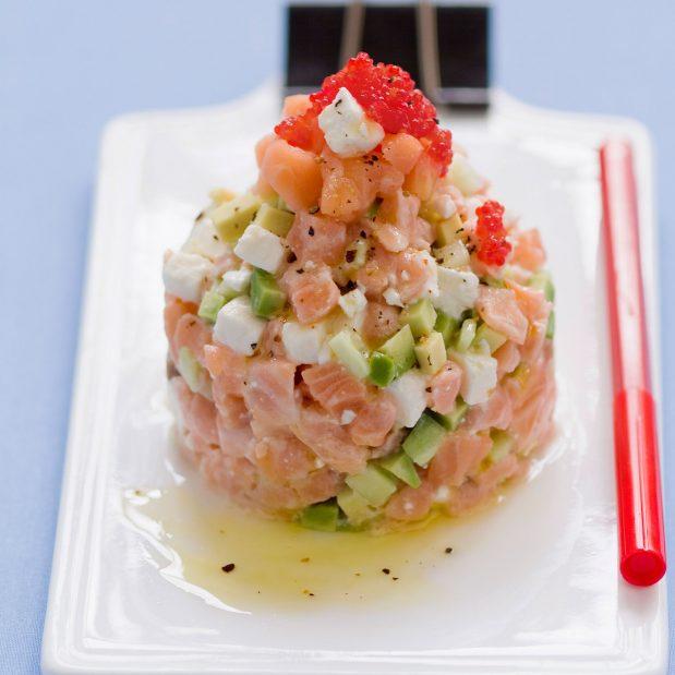 Tartare de saumon : j'adore le poisson et j'en prépare très souvent